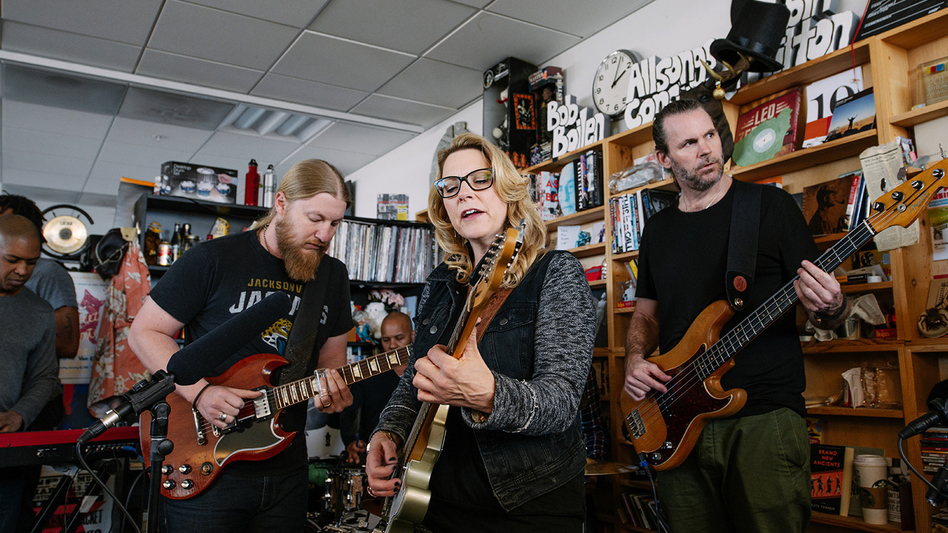 Tiny Desk Concert with Tedeschi Trucks Band. (NPR)