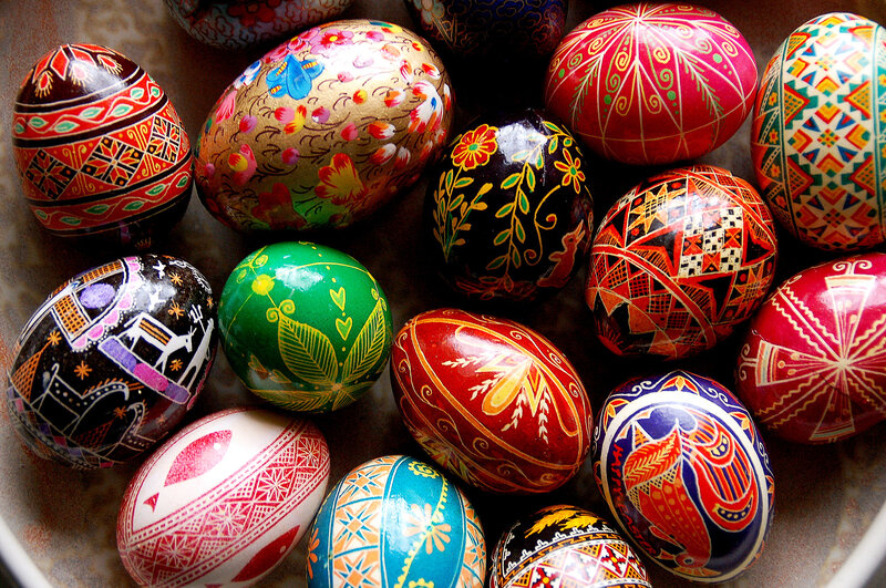 Easter Eggs Become Art To Celebrate Life S Rebirth The Salt Npr
