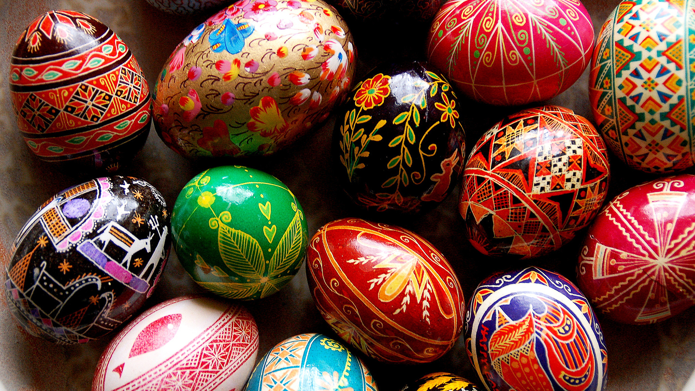Easter Eggs Become Art To Celebrate Life's Rebirth : The ...
