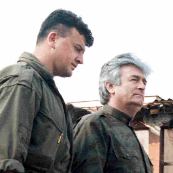 Radovan Karadjic in Banja Luka, Yugoslavia on August 10, 1995.