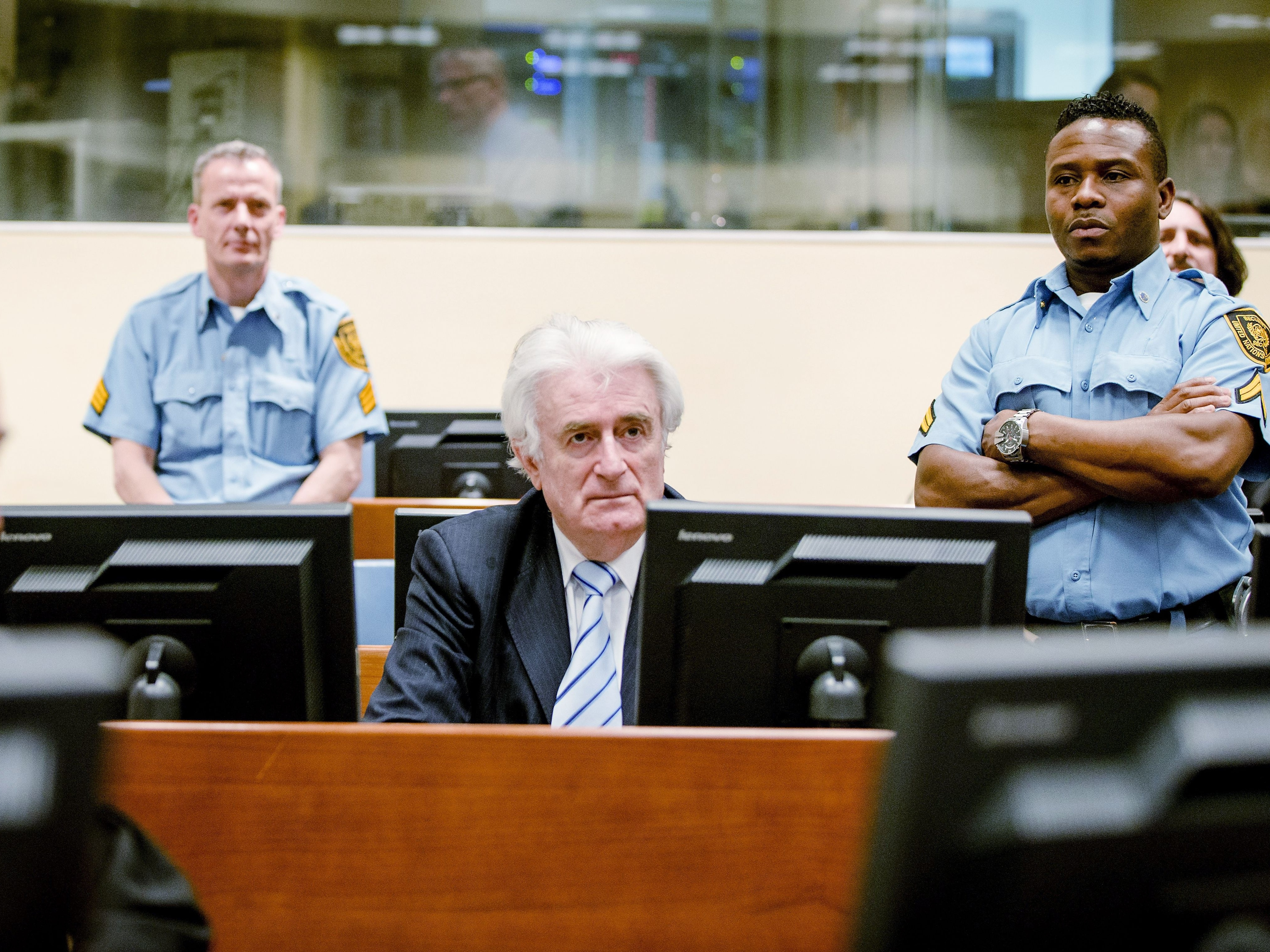 Two Decades After The War, A Genocide Conviction For Radovan Karadzic