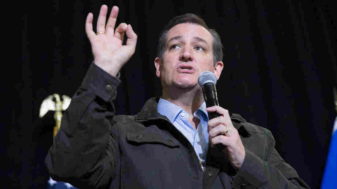 Republican presidential candidate Sen. Ted Cruz, R-Texas, campaigns in Wisconsin on Thursday.