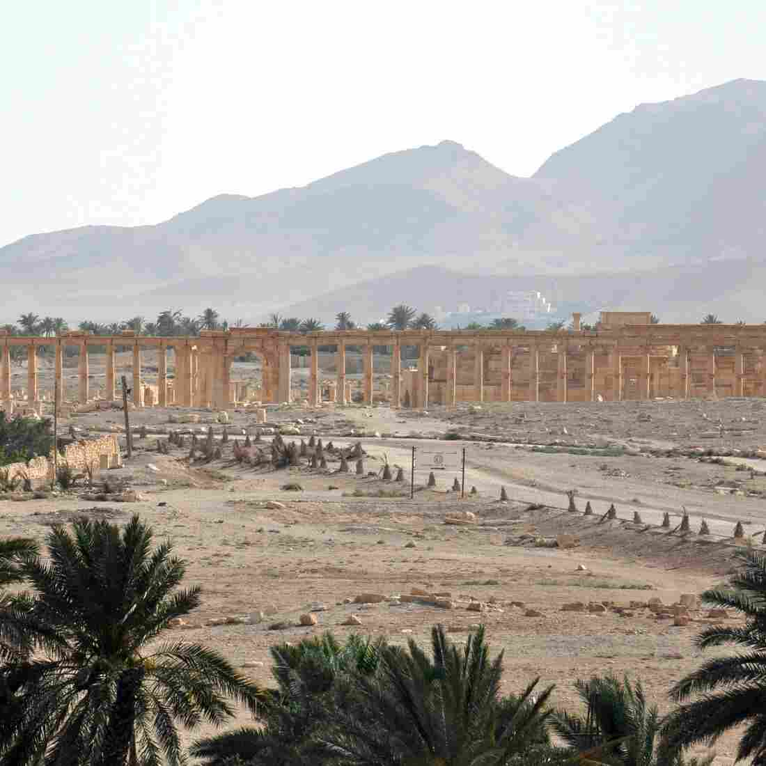 Syrian Regime Forces Push Into ISIS-Held City Of Palmyra
