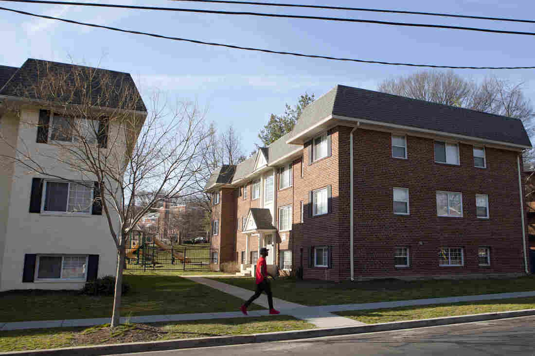 Pamula Glover's apartment complex is located in a Washington, D.C., neighborhood plagued by gun violence.