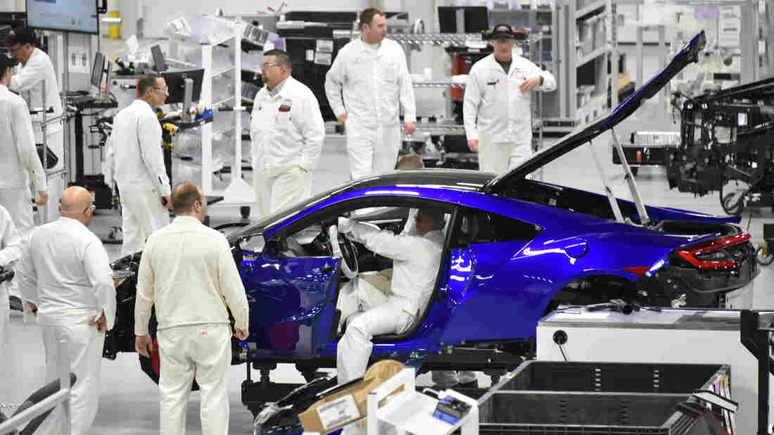 Honda Tries To Race Ahead With Its New Acura Nsx Hybrid Npr