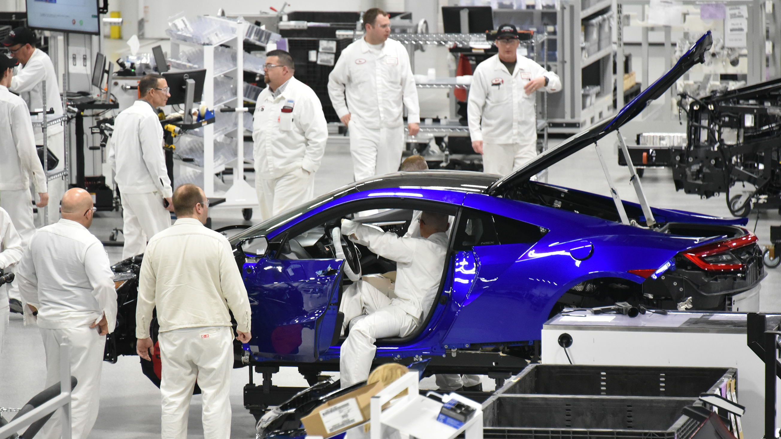 honda tries to race ahead with its new acura nsx hybrid ncpr news