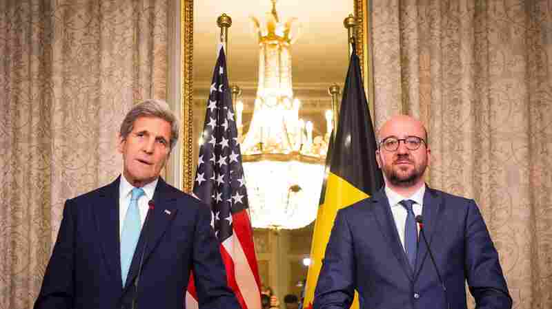 Americans Were Among Those Killed In Brussels Attacks, Kerry Says