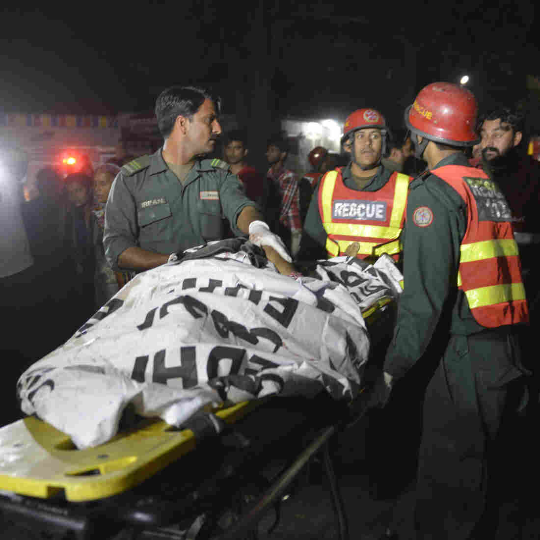 Explosion At Park In Lahore, Pakistan, Kills At Least 70