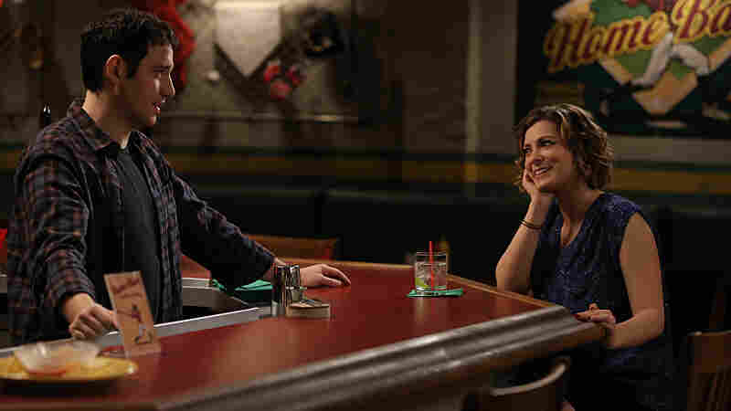 Santino Fontana and Rachel Bloom in Crazy Ex-Girlfriend.