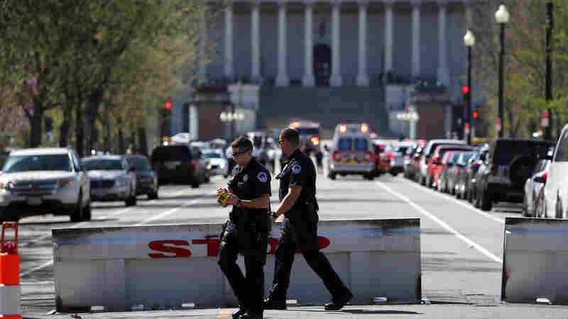Suspect In Custody After Drawing A Weapon At U.S. Capitol