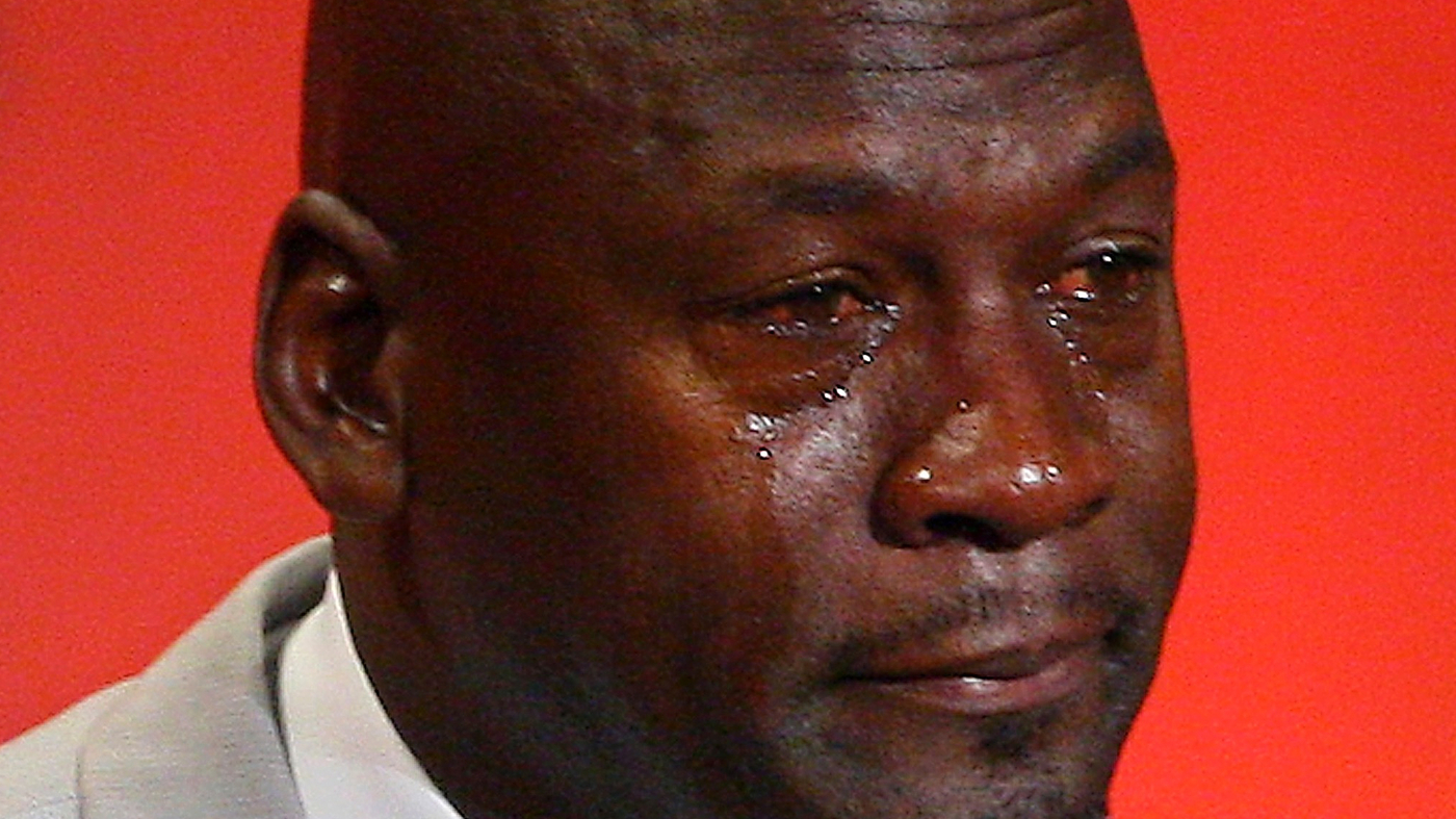 Funny Meme Faces 2018 : The evolution of the michael jordan crying face meme : the two way : npr