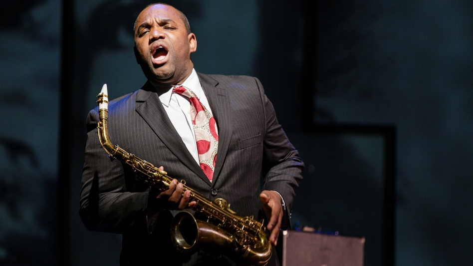 Tenor Lawrence Brownlee plays the title role in the new opera Charlie Parker's Yardbird. (Opera Philadelphia)