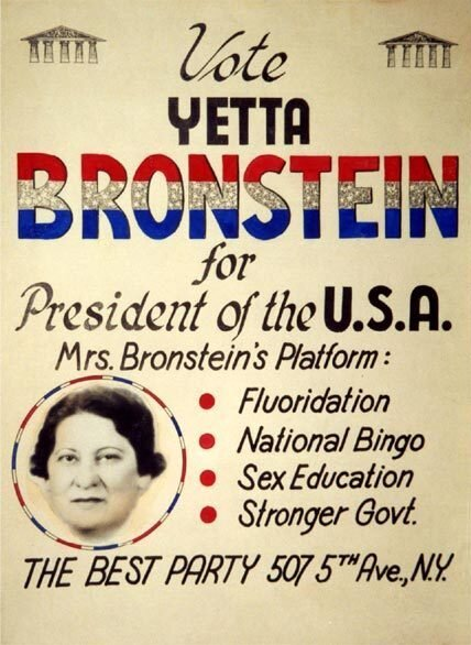 Yetta Bronstein, Vote, Democratic Race, First Woman President, Hillary R. Clinton, Quianna Canada, campaign professional, Running From Empty Shoes, Author, texas/austin/quianna-canada, office-of-the-state-attorney-13th-judicial-circuit-drop-all-criminal-charges-against-ms-quianna-s-canada
