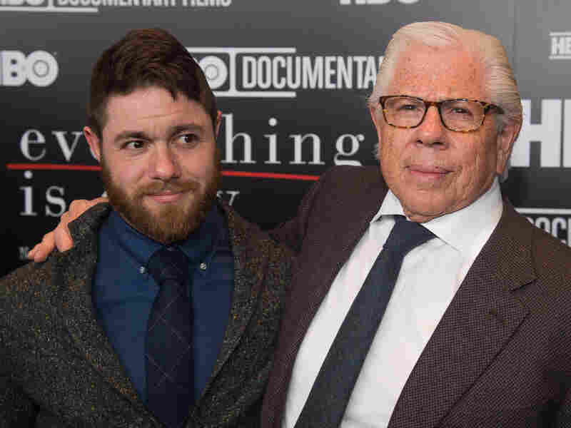 Jacob Bernstein, left, says Everything Is Copy wouldn't have been complete without the participation of his father, Carl Bernstein.