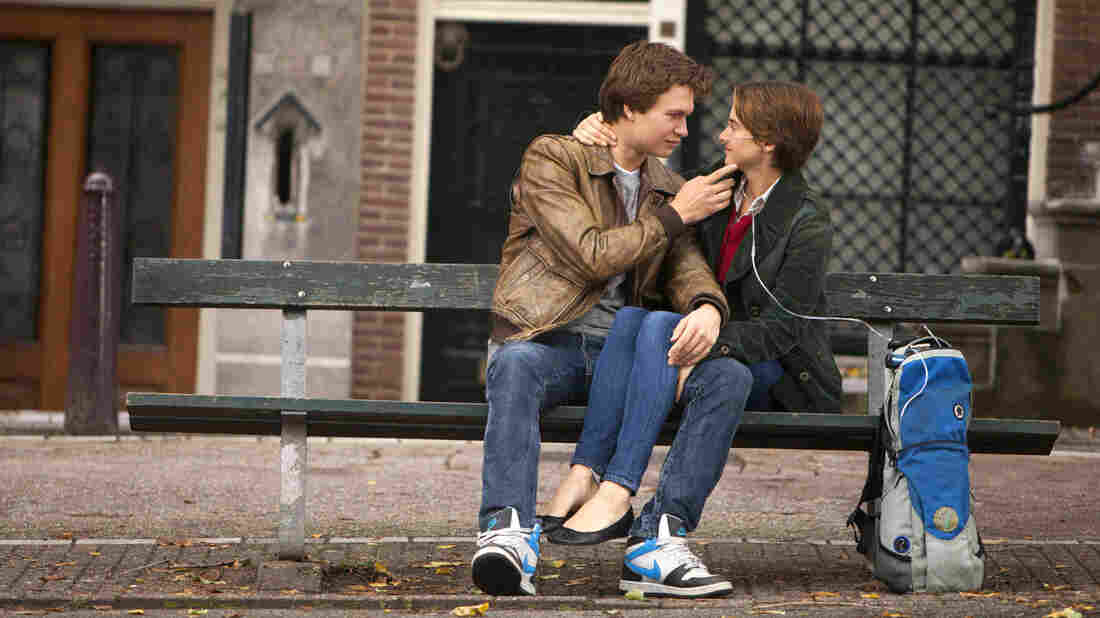 Ansel Elgort and Shailene Woodley star in the film adaptation of John Green's The Fault in Our Stars, a book that's been celebrated for its depiction of positive consent.