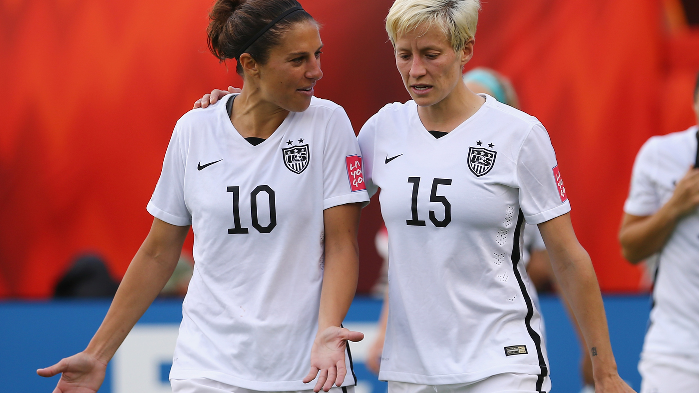 new concept 27a2a 7346c U.S. Women's Soccer Team Members File Federal Equal-Pay ...