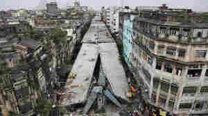 Kolkata Police Detain Construction Officials After Deadly Road Collapse