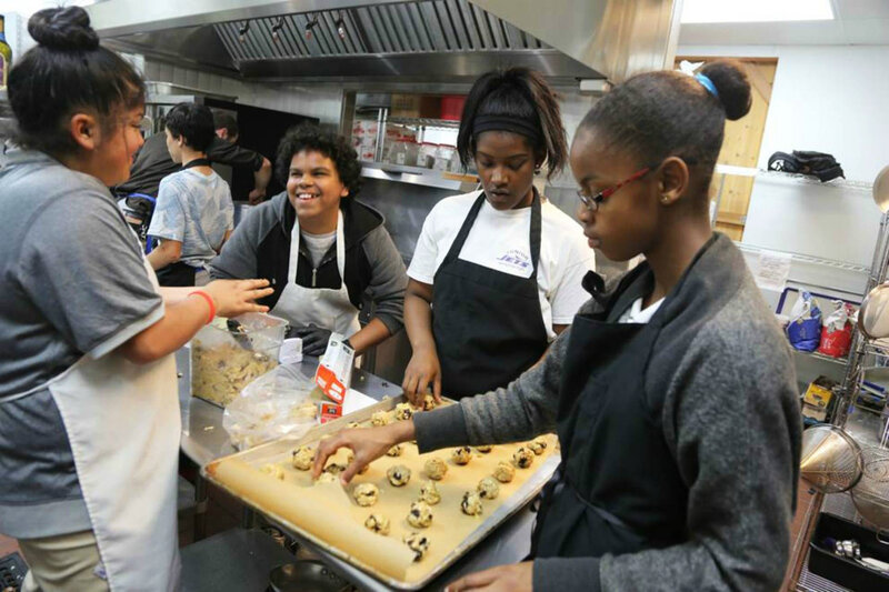 Teen volunteers at the Ceres Community Project meet up after school to cook up healthful meals for patients at local hospitals.