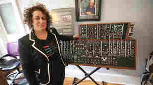 Michelle Moog-Koussa of the Bob Moog Foundation.