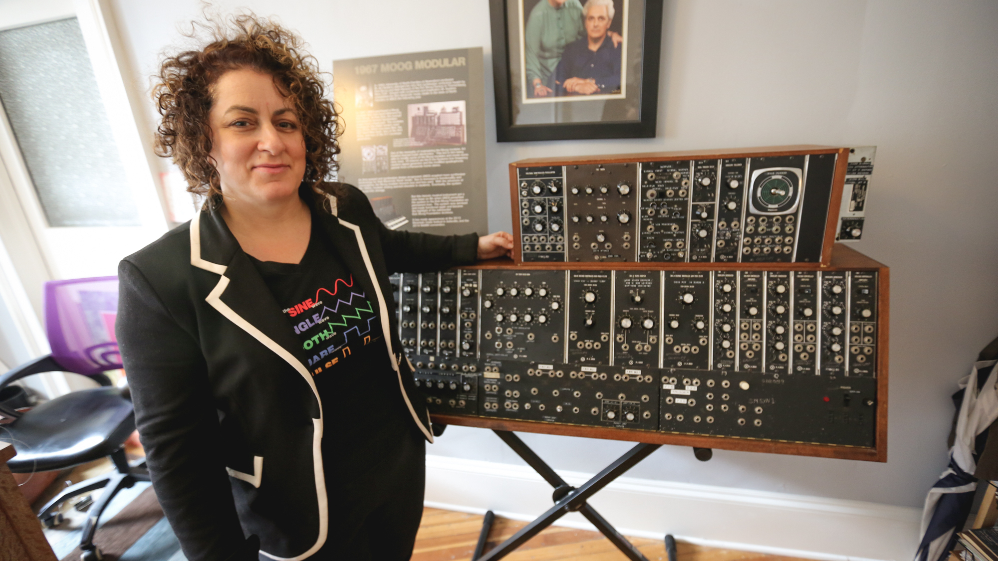 Sense Of Place Asheville: Bob Moog's Legacy Lives Through His Daughter's Work