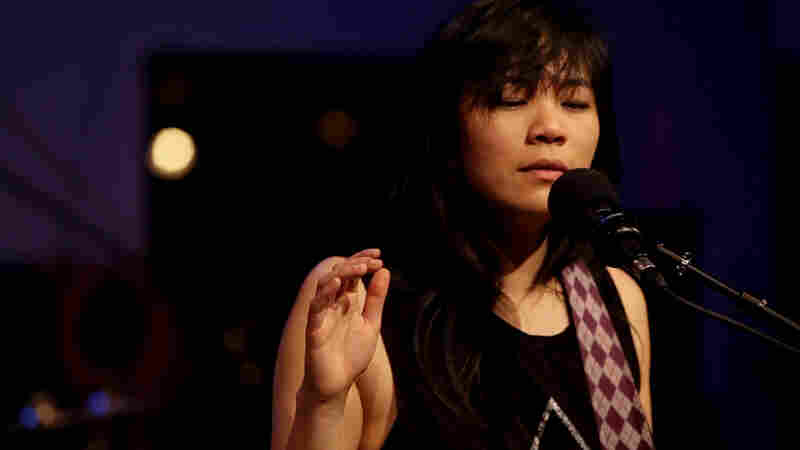 Thao And The Get Down Stay Down performs live for opbmusic.