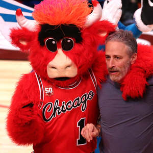Let the record show: this is not the bull Jon Stewart saved on Friday.