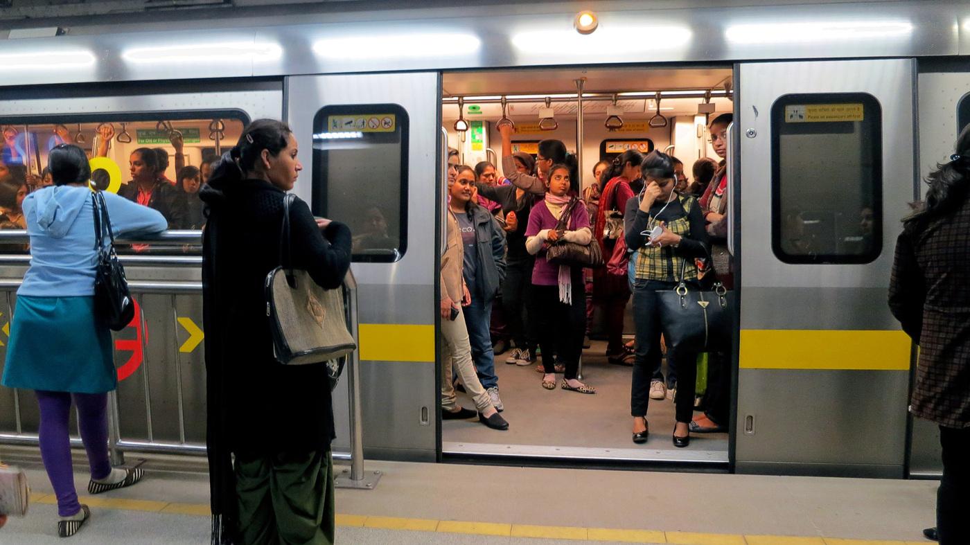 Image result for mumbai metro women