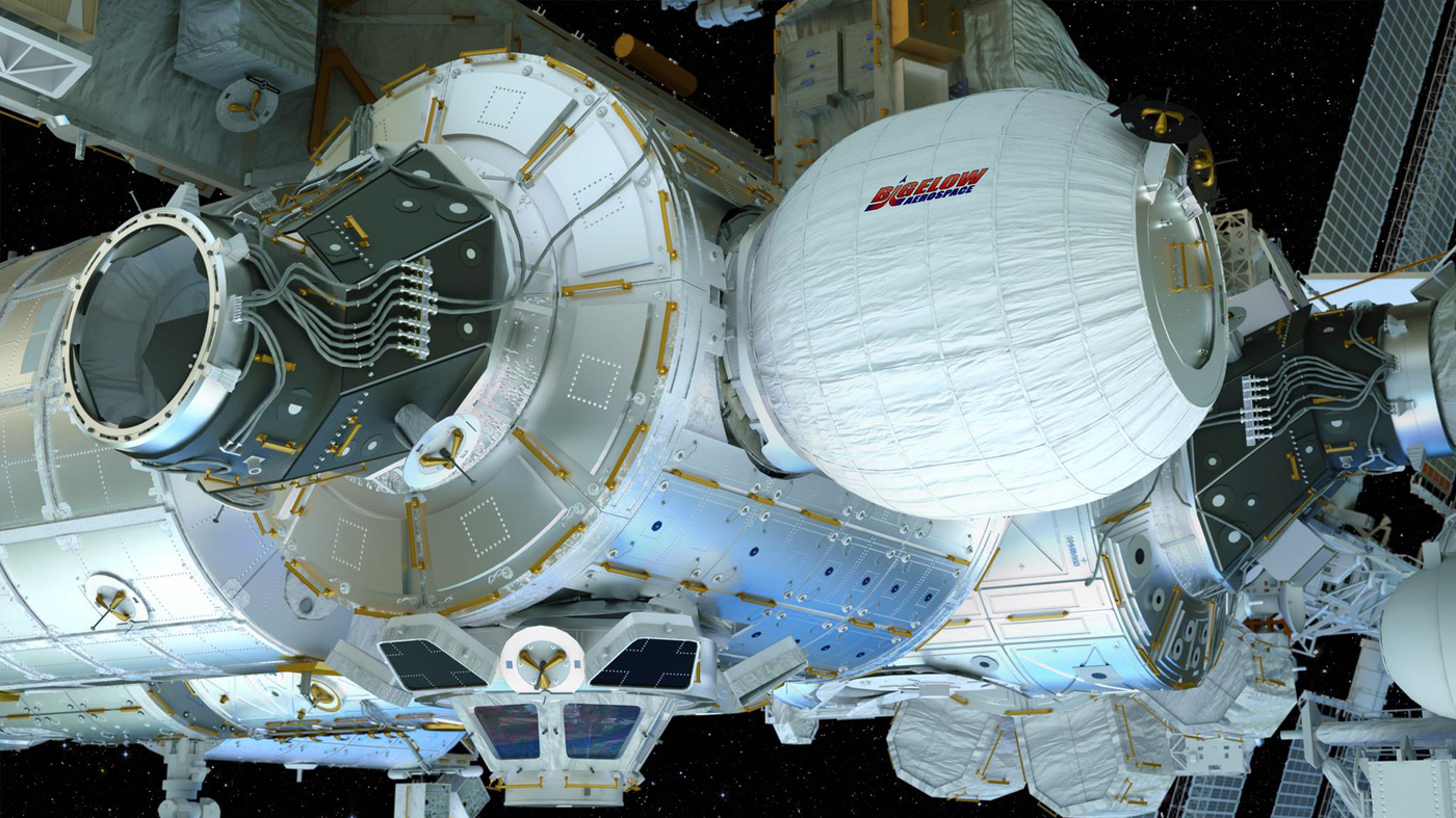 Inflatable Room Nasa To Test Inflatable Room For Astronauts In Space The Two Way