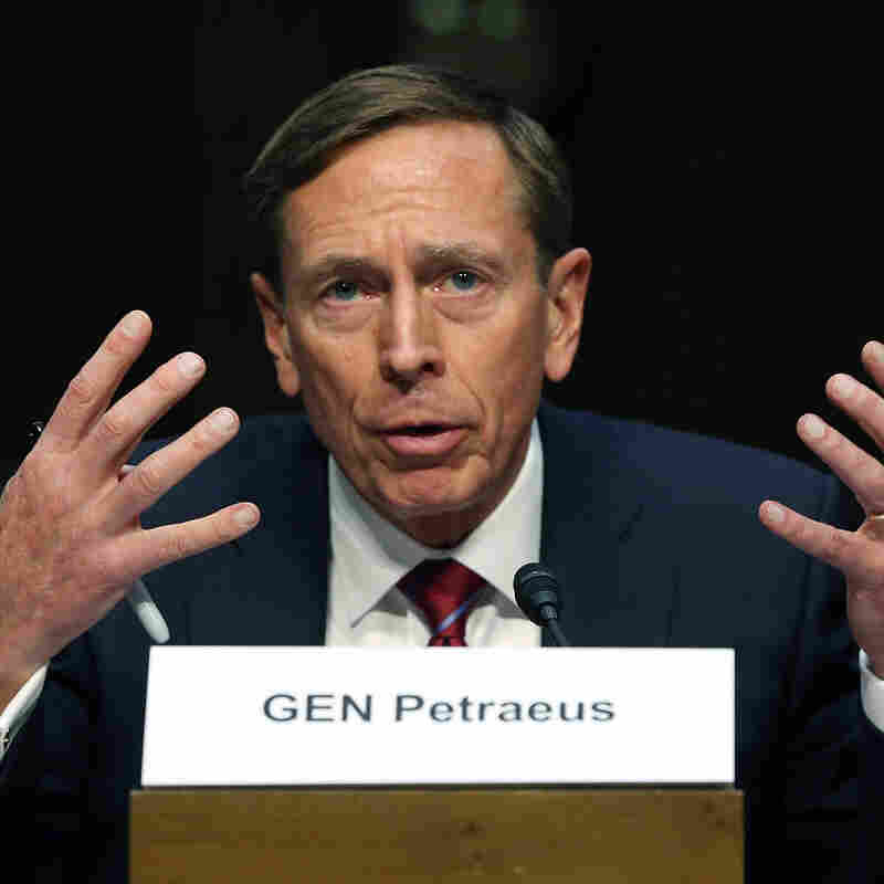 Retired US Army Gen. David Petraeus