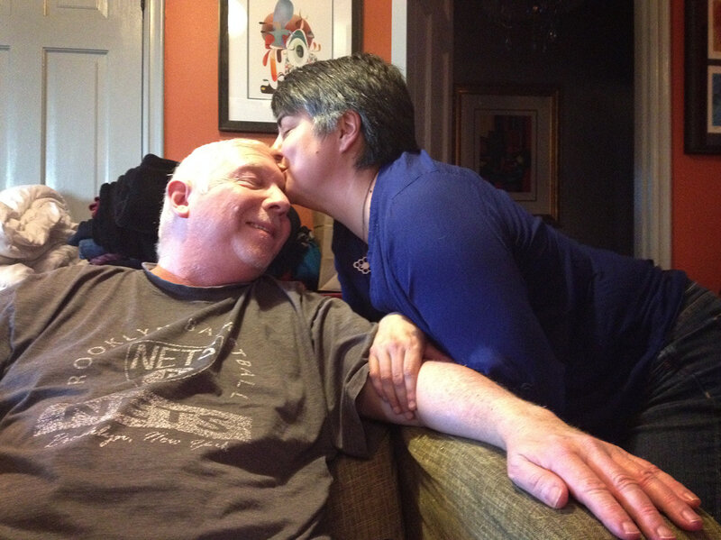 Steve Julian, a radio host with KPCC in Los Angeles, was diagnosed with terminal brain cancer last November. He and his wife, Felicia Friesema, turned to social media for solace, support and the space to process their heartbreaking journey.