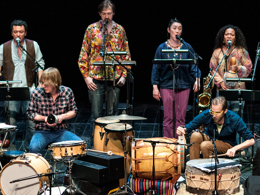 Musicians from the French ensembles Dedalus and Muzzix have recreated an album by Moondog, originally released in 1971.