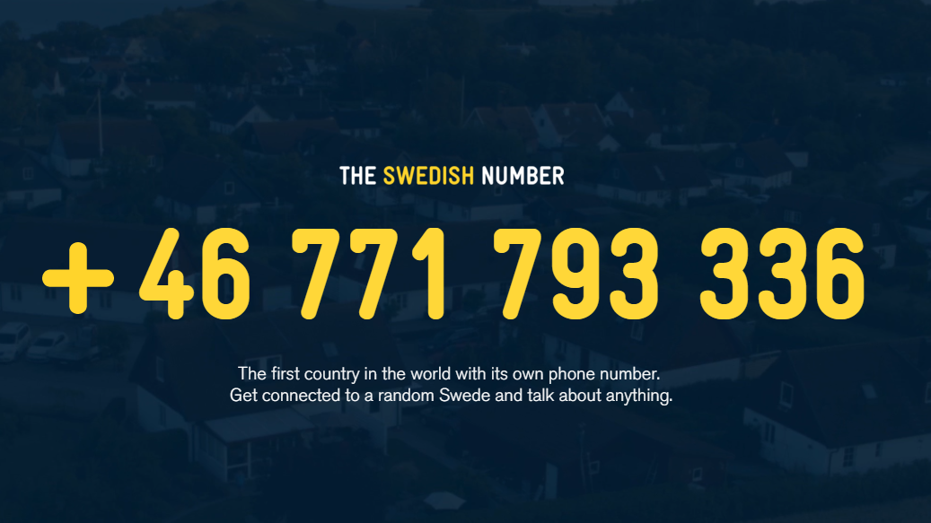 Call A Random Swede? We Tried It Out