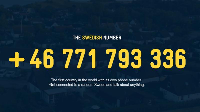 Call A Random Swede? We Tried It Out