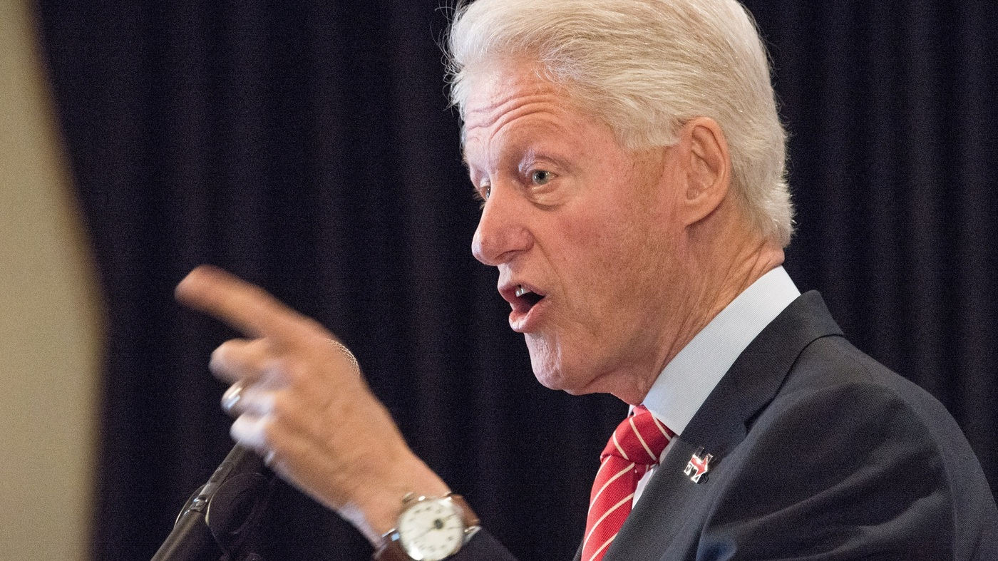Bill Clinton Gets Into...