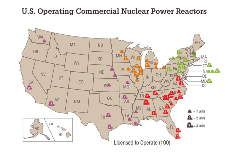 Unable To Compete On Price, Nuclear Power On The Decline In The U.S. ...