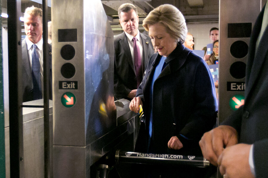 Memeoftheweek Hillary Clinton The New York Subway And Authenticity