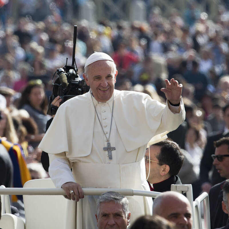 Pope Francis Offers Some Advice On Relationships The Two Way Npr