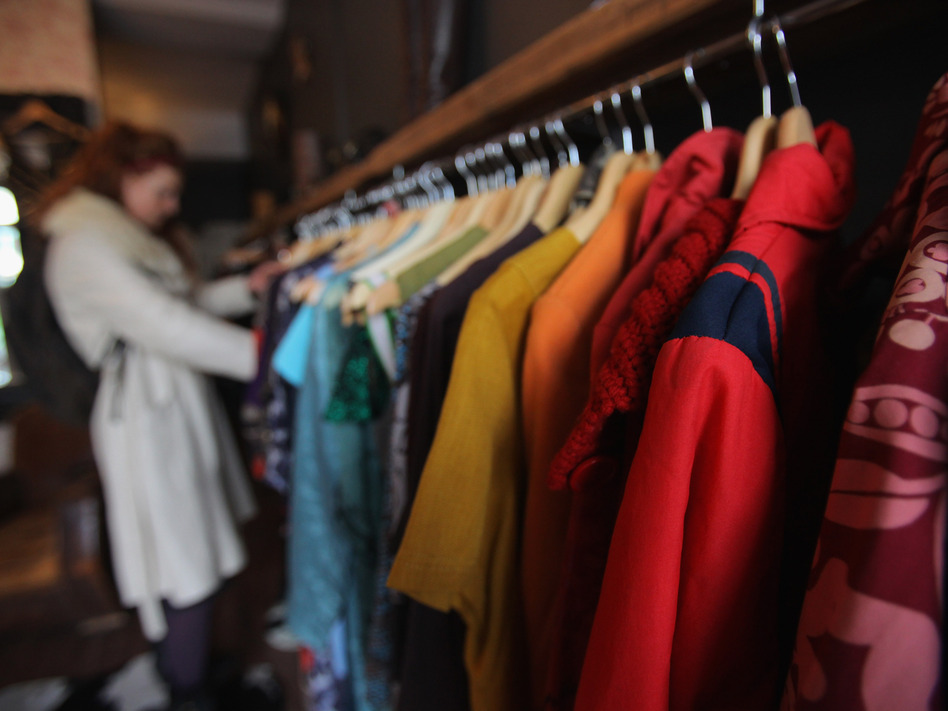 As we purchase more clothes, more waste is accumulated. Some companies and grassroots organizations are looking to change that with new initiatives. (Matt Cardy/Getty Images)