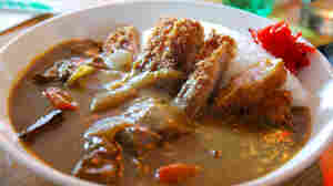 Katsu curry: The British navy brought its anglicized interpretations of Indian cuisines to Imperial Japan in the 19th century. By the end of the century, the Japanese navy had adapted the British version of curry.