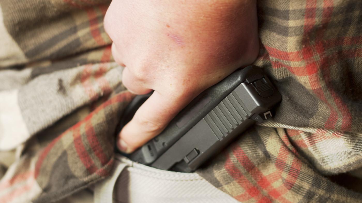 b26c86c3 Does Carrying A Pistol Make You Safer? : NPR