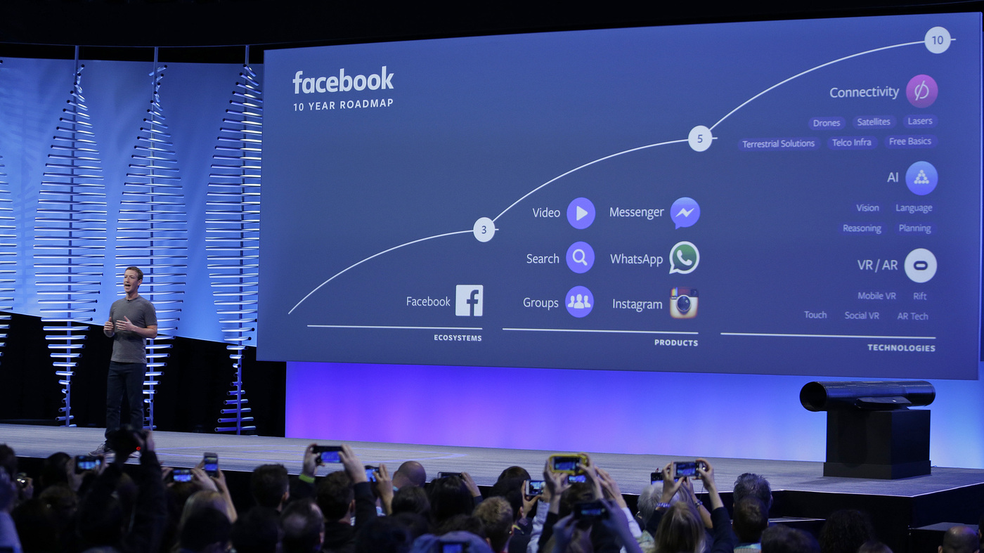Facebook's New Master Plan: Kill Other Apps : All Tech Considered : NPR