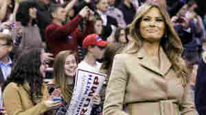 An Atypical Political Spouse, Melania Trump Steps Into The Campaign Spotlight