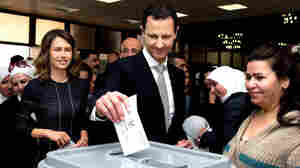 Parts Of Syria Vote In Parliamentary Elections That Critics Say Are A Sham