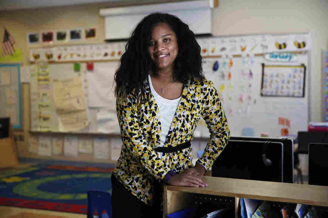 Marissa McGee is a kindergarten teacher at Walker Jones Elementary in Washington, D.C.