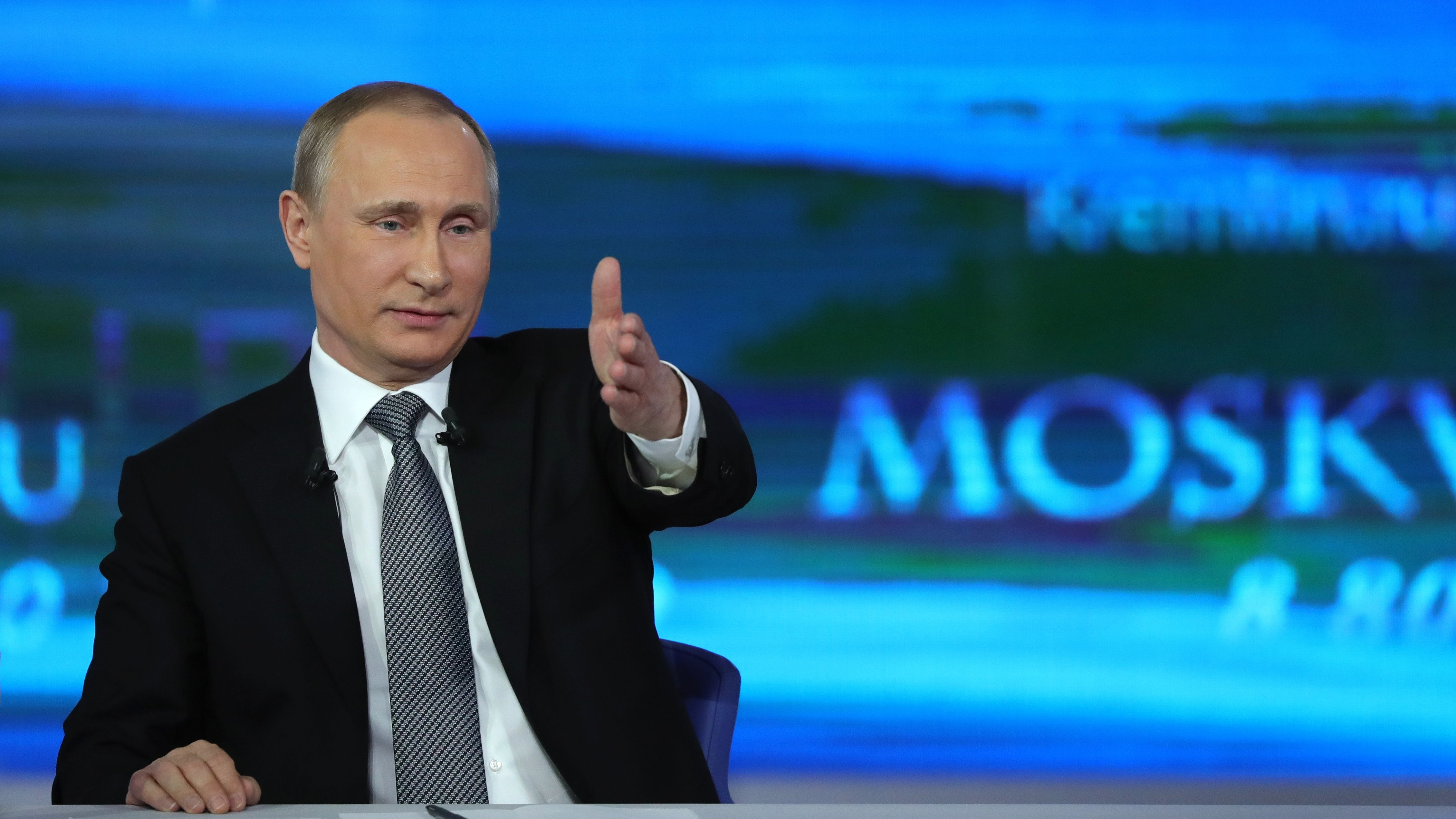 Putin Takes Questions From Russian Public In Annual Call-In Show