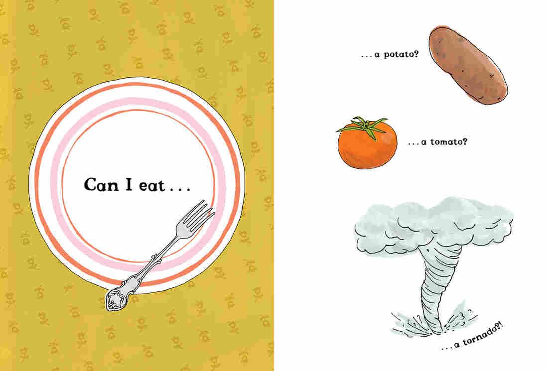 Can I eat... a potato, a tomato, a tornado?