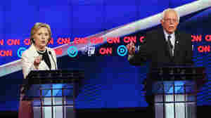 Latest And Perhaps Last Debate Highlights Animosity Of Sanders, Clinton