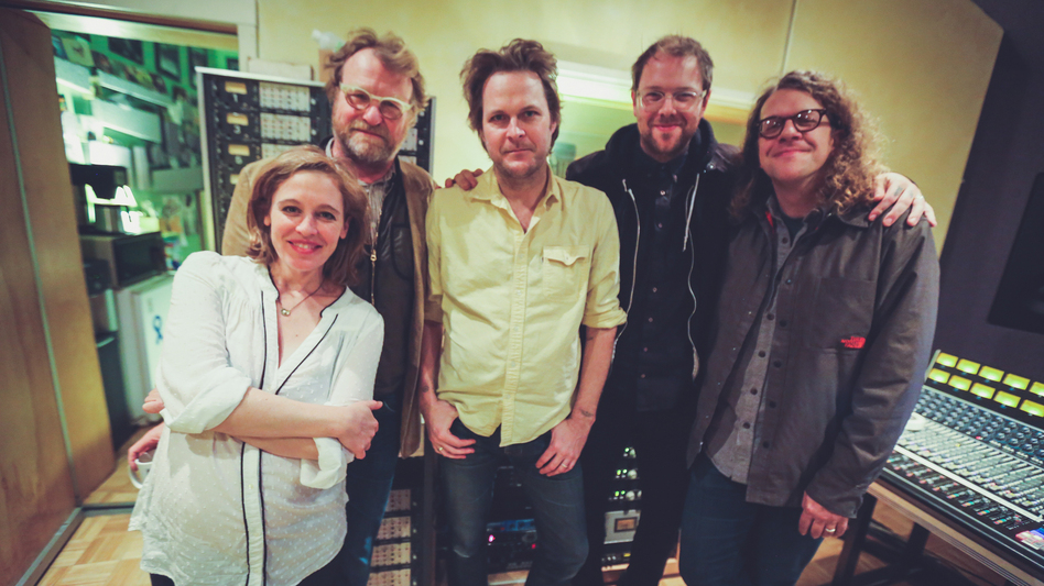 Hiss Golden Messenger with Tift Merritt and Eric Heywood. (WXPN)