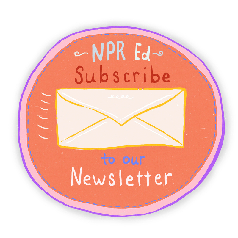 Subscribe to the NPR Ed Newsletter