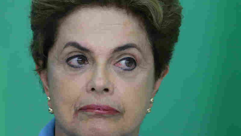 Brazil's President Dilma Rousseff has vowed to fight against those seeking her impeachment.